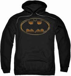 Dark Knight Rises pull-over hoodie Spray Bat adult black
