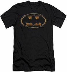 Dark Knight Rises slim-fit t-shirt Spray Bat mens black