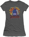 Darkseid juniors t-shirt Stars charcoal
