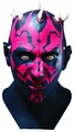 Star Wars Darth Maul adult overhead latex mask with cowl