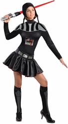 Darth Vader adult female costume