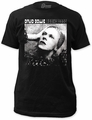 David Bowie hunky dory fitted jersey tee mens black preorder