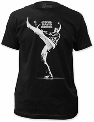David Bowie man who sold the world fitted jersey tee mens black pre-order