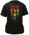 David Bowie ziggy phonebooth adult tee black
