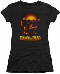 Dawn of The Dead juniors t-shirt Dawn Collage black
