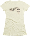 Dawn of The Dead juniors t-shirt Help Alive Inside cream