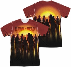 Dawn Of The Dead mens full sublimation t-shirt Swarm
