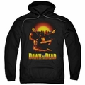 Dawn Of The Dead pull-over hoodie Dawn Collage adult black