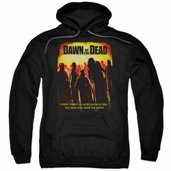 Dawn Of The Dead pull-over hoodie Title adult black