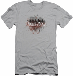 Dawn Of The Dead slim-fit t-shirt Creeping Shadows mens silver