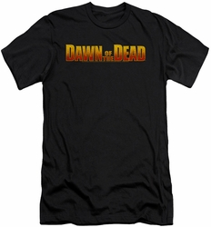 Dawn Of The Dead slim-fit t-shirt Dawn Logo mens black
