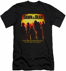 Dawn Of The Dead slim-fit t-shirt Title mens black