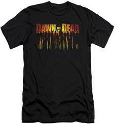 Dawn Of The Dead slim-fit t-shirt Walking Dead mens black