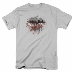 Dawn Of The Dead t-shirt Creeping Shadows mens silver
