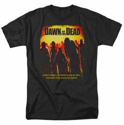 Dawn Of The Dead t-shirt Title mens black