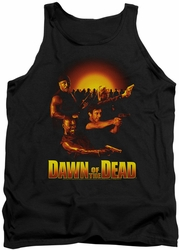 Dawn Of The Dead tank top Dawn Collage mens black