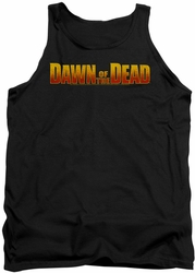Dawn Of The Dead tank top Dawn Logo mens black
