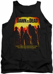 Dawn Of The Dead tank top Title mens black