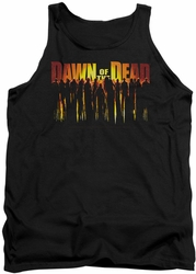 Dawn Of The Dead tank top Walking Dead mens black