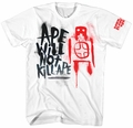 Dawn Planet of the Apes t-shirt Ape Will Not Kill Ape mens white