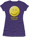 Dazed And Confused juniors t-shirt Dazed Smile purple
