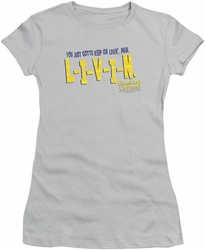 Dazed and Confused juniors t-shirt Livin silver