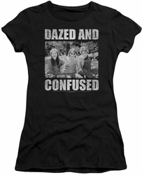 Dazed And Confused juniors t-shirt Rock On black