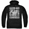 Dazed And Confused pull-over hoodie Rock On adult black