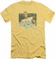 Dazed And Confused slim-fit t-shirt Alright Alright mens banana