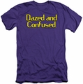 Dazed And Confused slim-fit t-shirt Dazed Logo mens purple