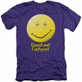 Dazed And Confused slim-fit t-shirt Dazed Smile mens purple