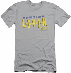 Dazed And Confused slim-fit t-shirt Livin mens silver