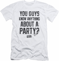 Dazed And Confused slim-fit t-shirt Party Time mens white