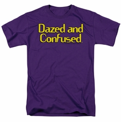 Dazed And Confused t-shirt Dazed Logo mens purple