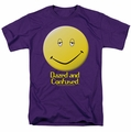 Dazed And Confused t-shirt Dazed Smile mens purple