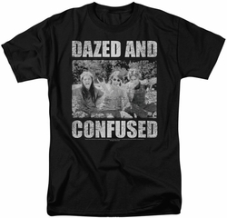 Dazed And Confused t-shirt Rock On mens black