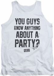 Dazed And Confused tank top Party Time mens white