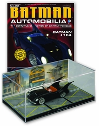Dc Batman Automobilia Figurine Collection Magazine #22 Batman #164 Animated