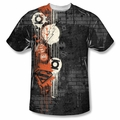 DC Comic front sublimation t-shirt Oh The Urbanity short sleeve White
