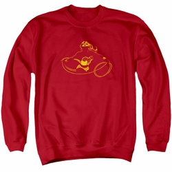 DC Comics adult crewneck sweatshirt Wonder Minimal red