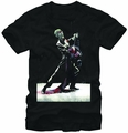 Joker Swing Dance Black mens t-shirt