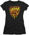 The Flash juniors t-shirt Blazing Speed black