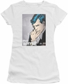 Batman juniors t-shirt Bruce Wayne white