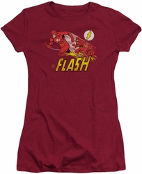 Flash juniors t-shirt Crimson Comet cardinal