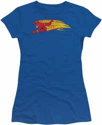 Flash juniors t-shirt Fastest Man Alive royal