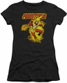 DC Comics juniors t-shirt Firestorm black