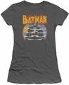 Batman juniors t-shirt Foggy charcoal