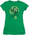 DC Comics juniors t-shirt Green Arrow kelly green