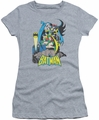 Batman juniors t-shirt Heroic Trio heather