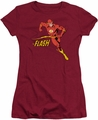 Flash juniors t-shirt Jetstream cardinal